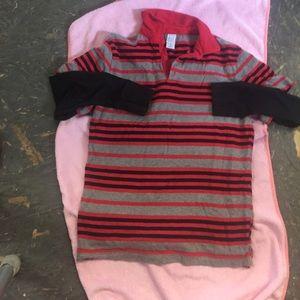 Shaun white 4 target red gray and black kids shirt